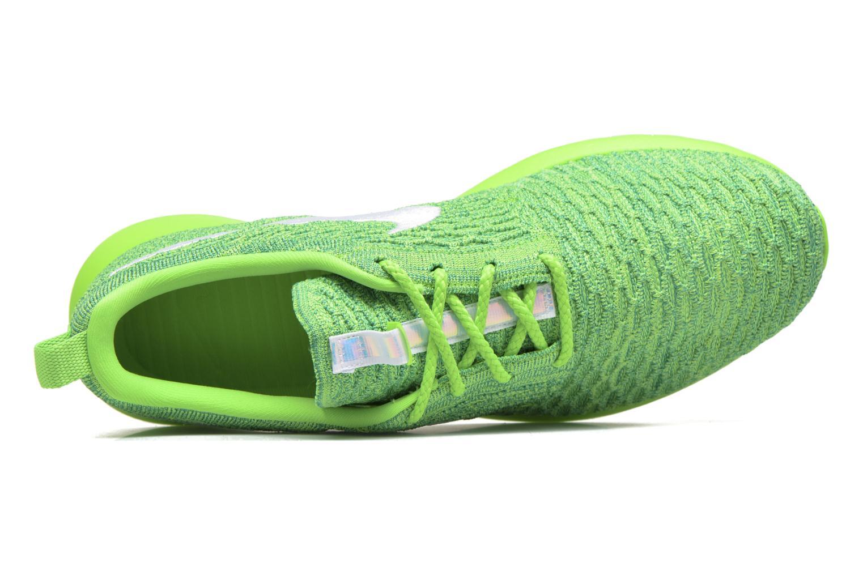 Baskets Nike Nike Roshe Nm Flyknit Vert vue gauche