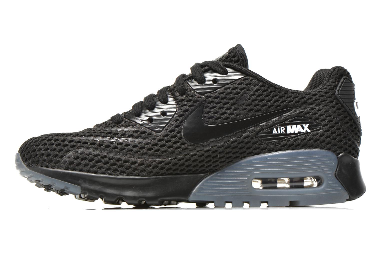 Sneaker Nike W Air Max 90 Ultra Br schwarz ansicht von vorne