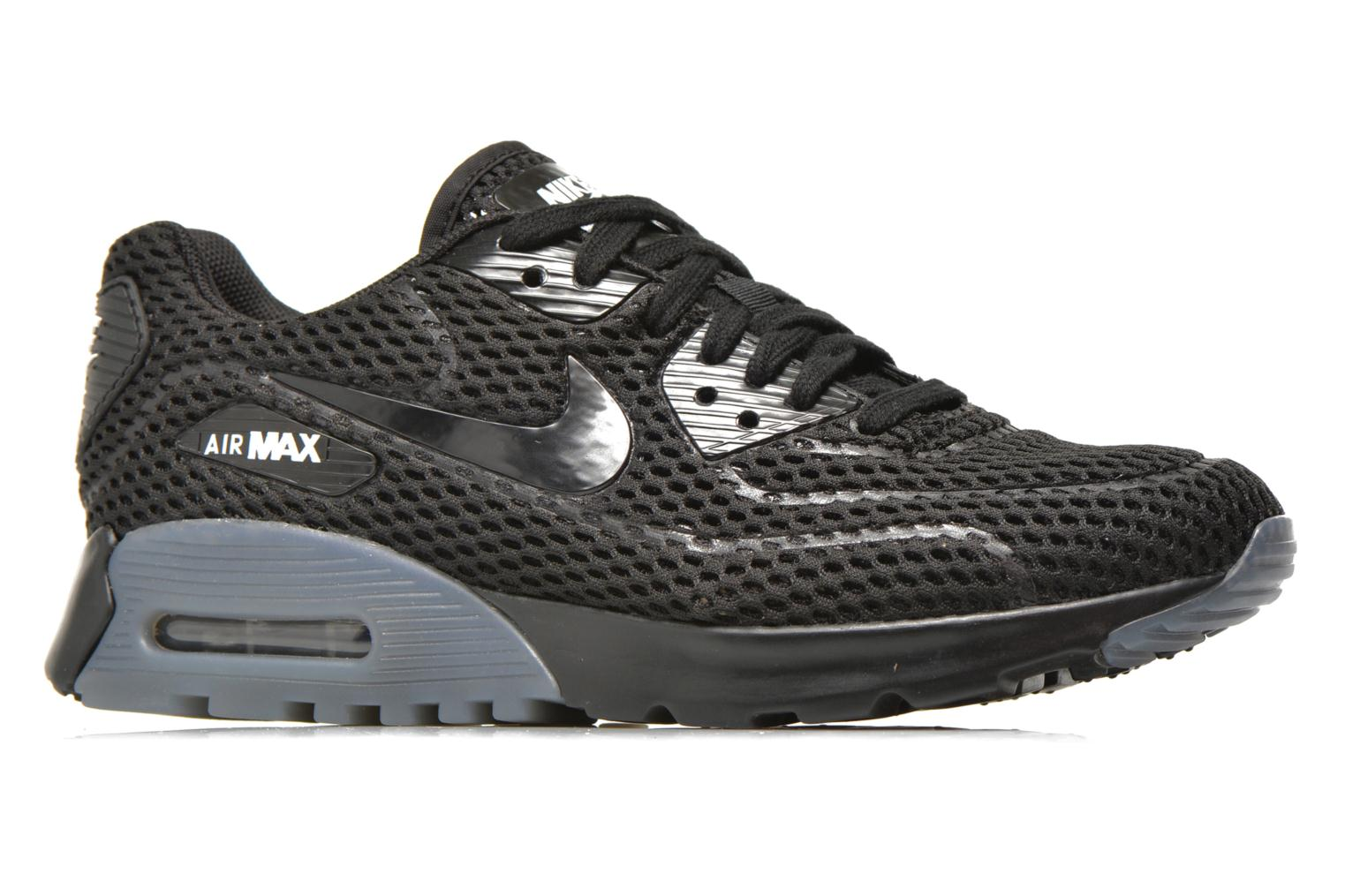 W Air Max 90 Ultra Br Black/black-White