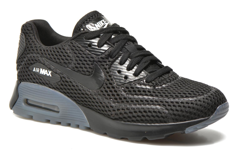 W Air Max 90 Ultra Br Black/black-White