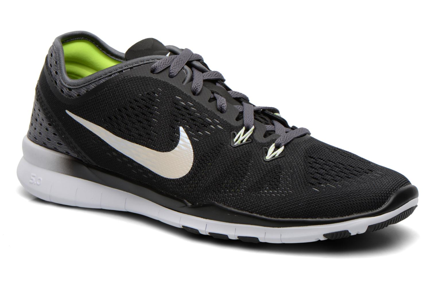 W Nike Free 5.0 Tr Fit 5 Brthe BLACK/WHITE-DARK GREY