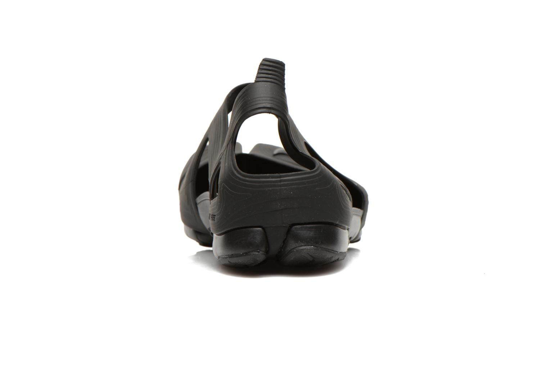 Sandales et nu-pieds Nike Wmns Free Rift Sandal Noir vue droite