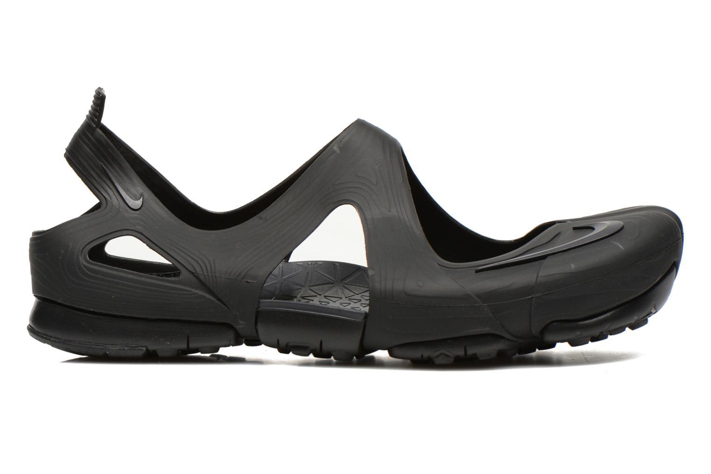 Sandales et nu-pieds Nike Wmns Free Rift Sandal Noir vue derrière