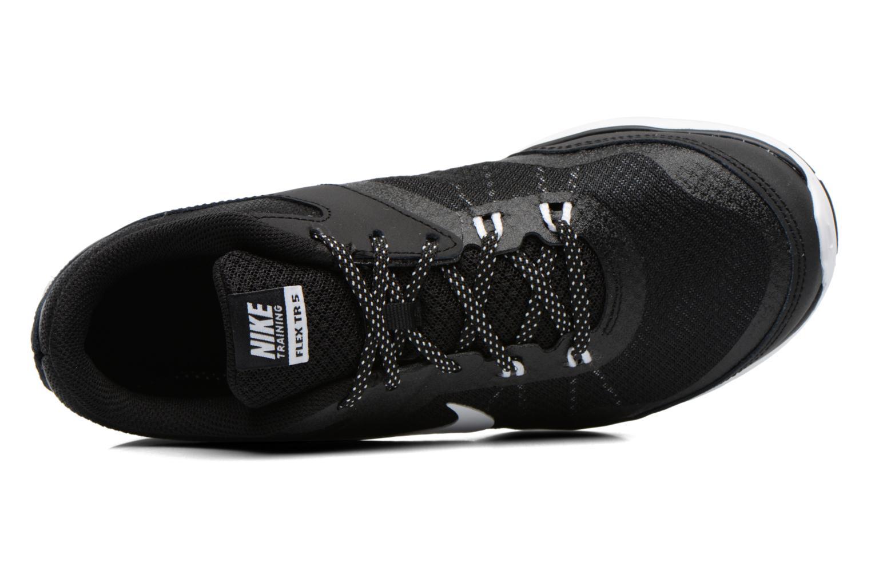 Chaussures de sport Nike Wmns Nike Flex Trainer 5 Noir vue gauche