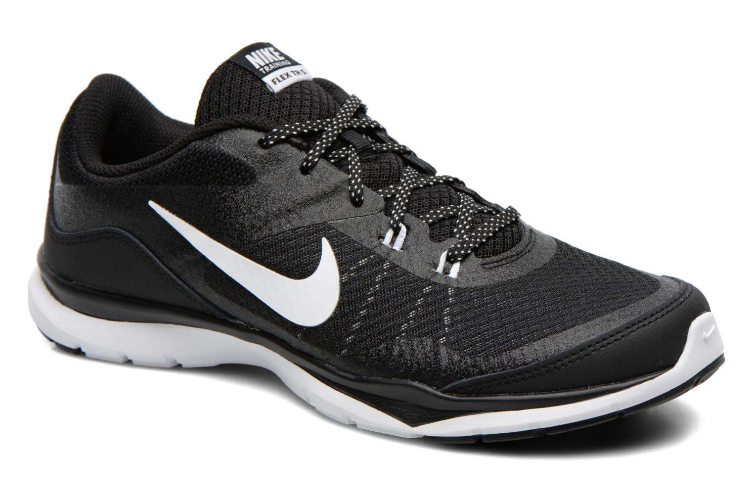 Wmns Nike Flex Trainer 5 Black/white-anthracite