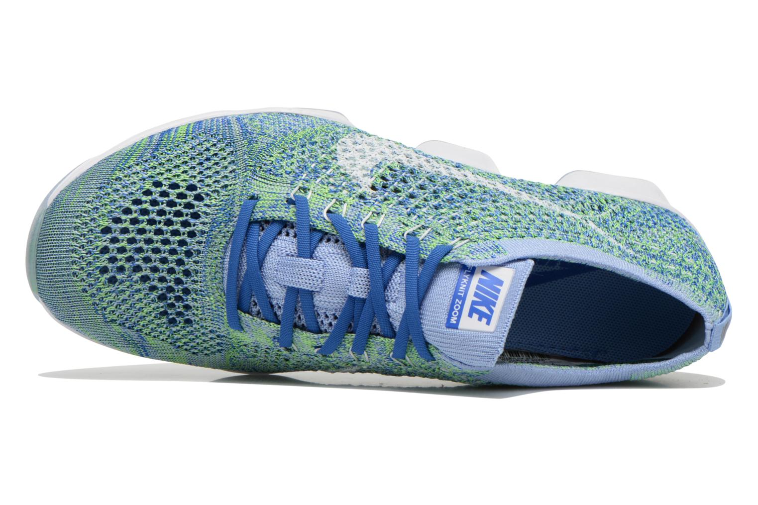 Wmns Nike Flyknit Zoom Agility Chalk Blue/White-Racer Blue