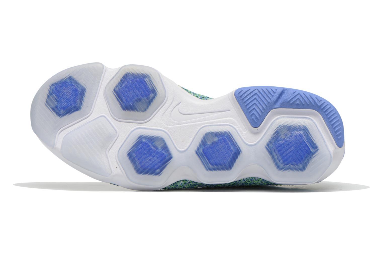 Wmns Nike Flyknit Zoom Agility Chalk Blue/White-Racer Blue