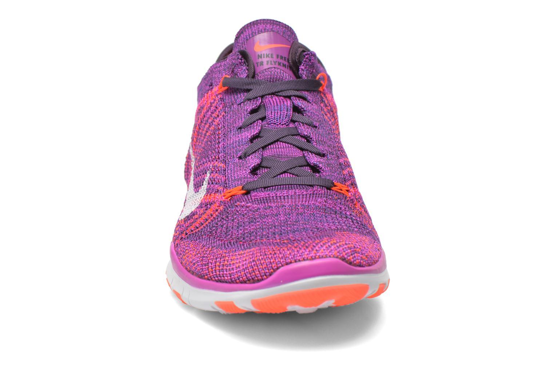 Chaussures de sport Nike Wmns Nike Free Tr Flyknit Violet vue portées chaussures