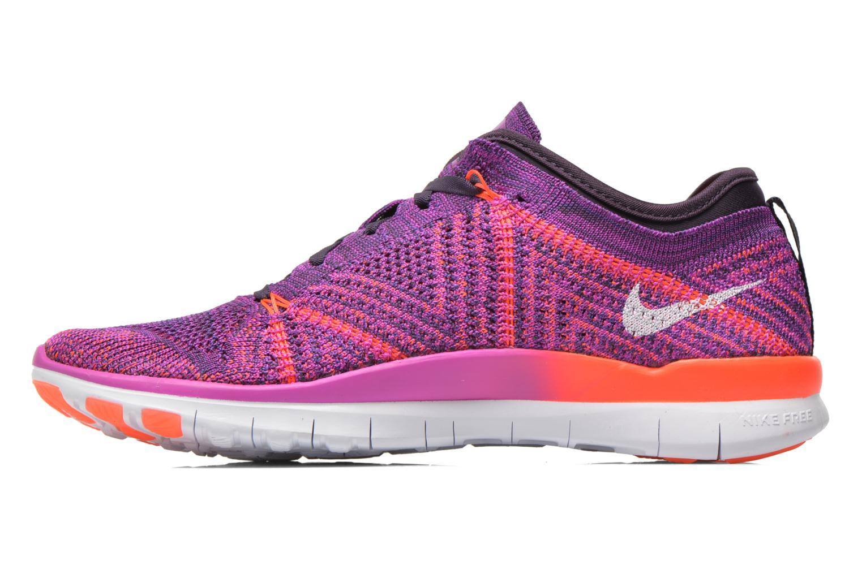Chaussures de sport Nike Wmns Nike Free Tr Flyknit Violet vue face