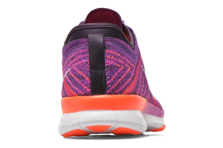 Chaussures de sport Nike Wmns Nike Free Tr Flyknit Violet vue droite