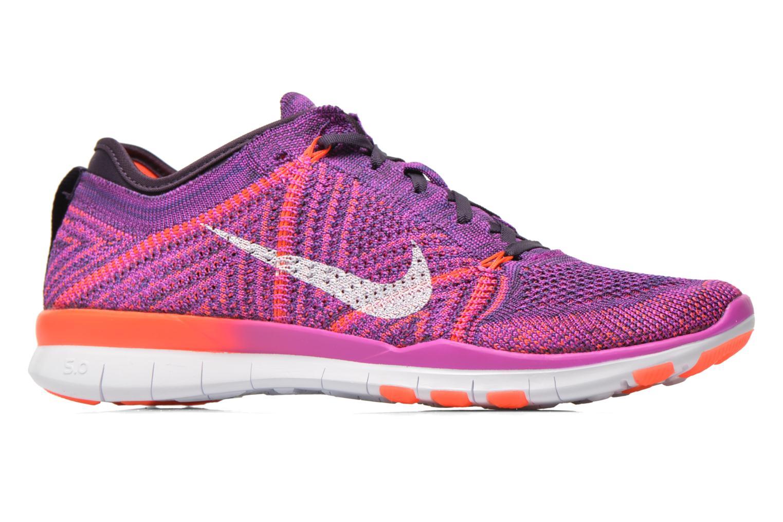 Chaussures de sport Nike Wmns Nike Free Tr Flyknit Violet vue derrière