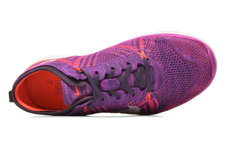 Chaussures de sport Nike Wmns Nike Free Tr Flyknit Violet vue gauche