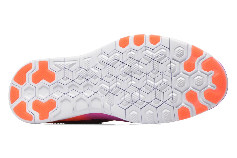 Wmns Nike Free Tr Flyknit Hypr Vlt/White-Ttl Crmsn-Prpl