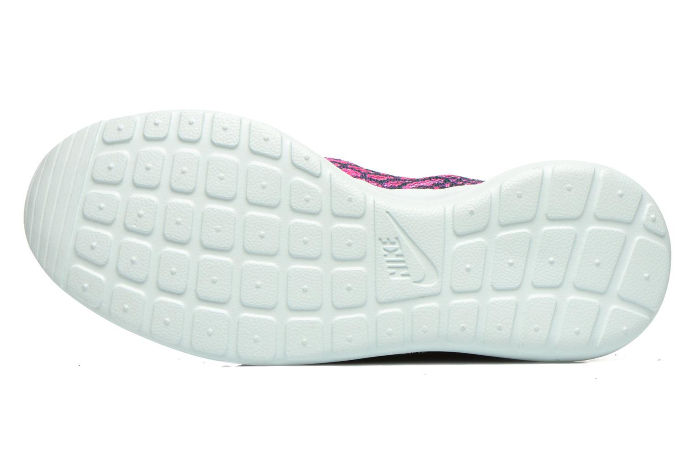 Baskets Nike Wmns Roshe One Flyknit Violet vue haut