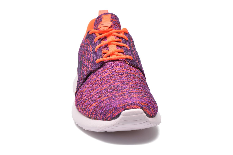 Sneaker Nike Wmns Roshe One Flyknit lila schuhe getragen