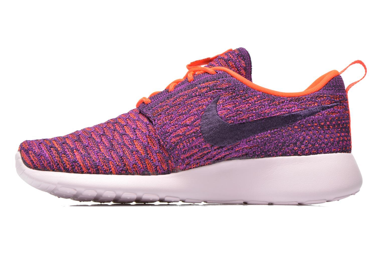 Sneaker Nike Wmns Roshe One Flyknit lila ansicht von vorne