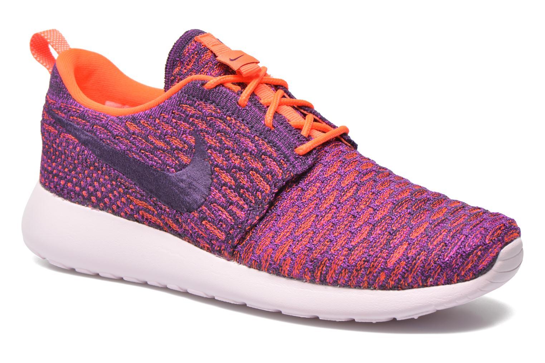 Sneaker Nike Wmns Roshe One Flyknit lila detaillierte ansicht/modell