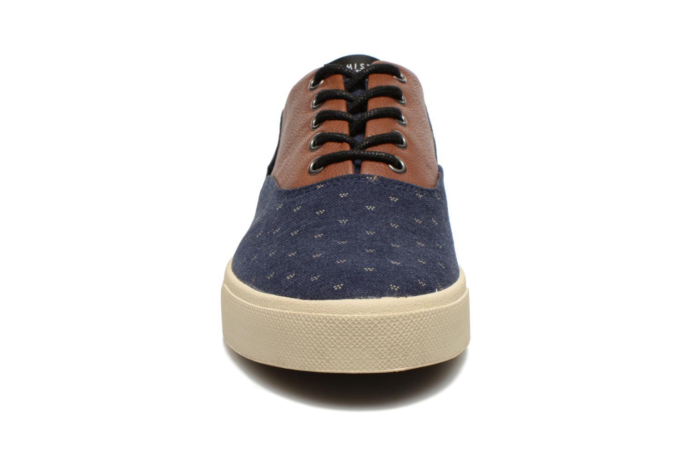 Baskets Armistice Hope Trainer Ash/Leather Grain Bleu vue portées chaussures