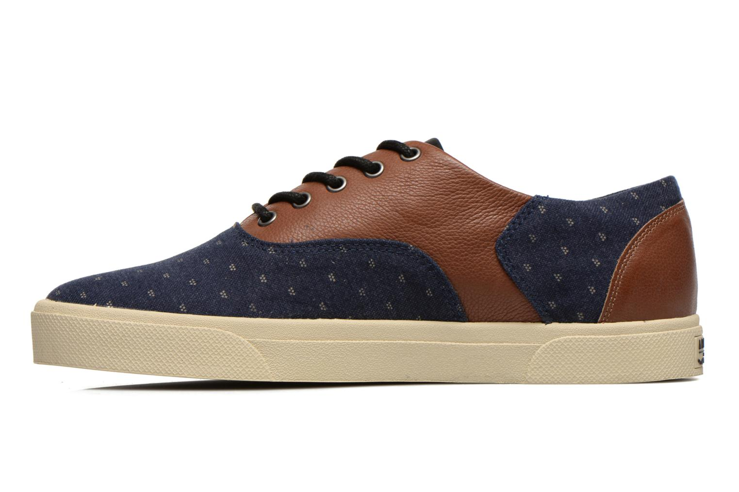 Sneakers Armistice Hope Trainer Ash/Leather Grain Blauw voorkant