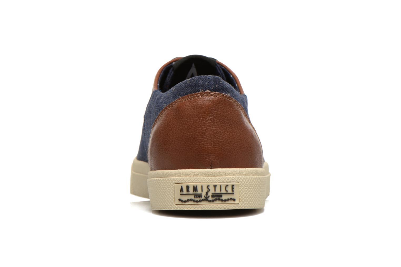 Sneakers Armistice Hope Trainer Ash/Leather Grain Blauw rechts