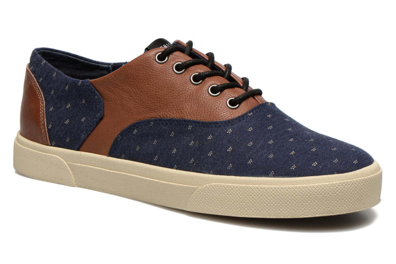 Sneakers Armistice Hope Trainer Ash/Leather Grain Blauw detail