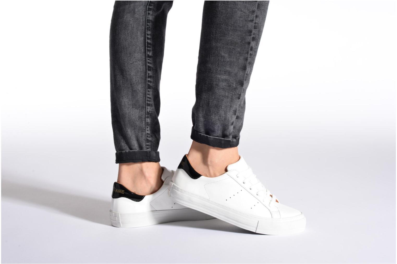 Baskets No Name Arcade Sneaker Altezza Leather Noir vue bas / vue portée sac