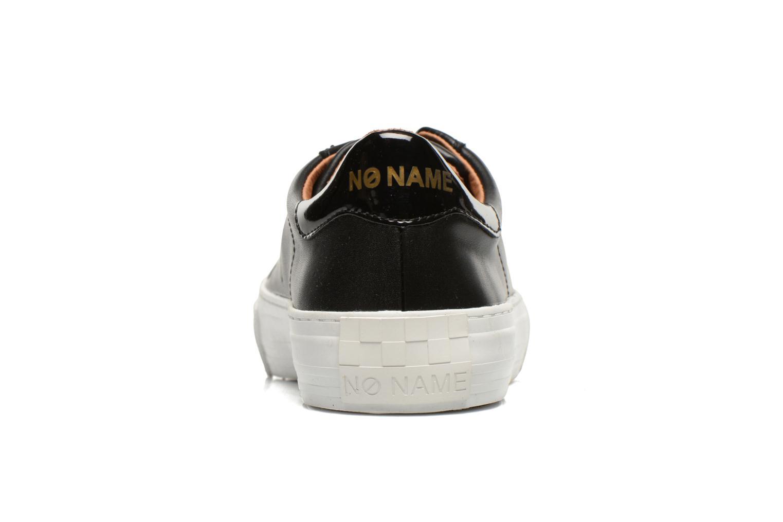 Baskets No Name Arcade Sneaker Altezza Leather Noir vue droite