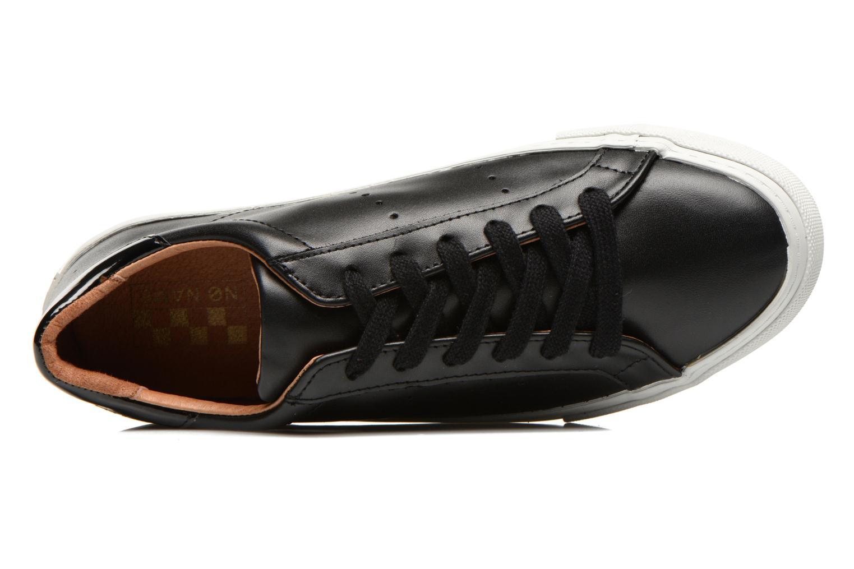 Baskets No Name Arcade Sneaker Altezza Leather Noir vue gauche