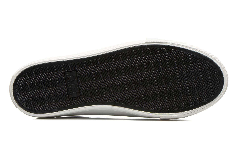 Baskets No Name Arcade Sneaker Altezza Leather Noir vue haut