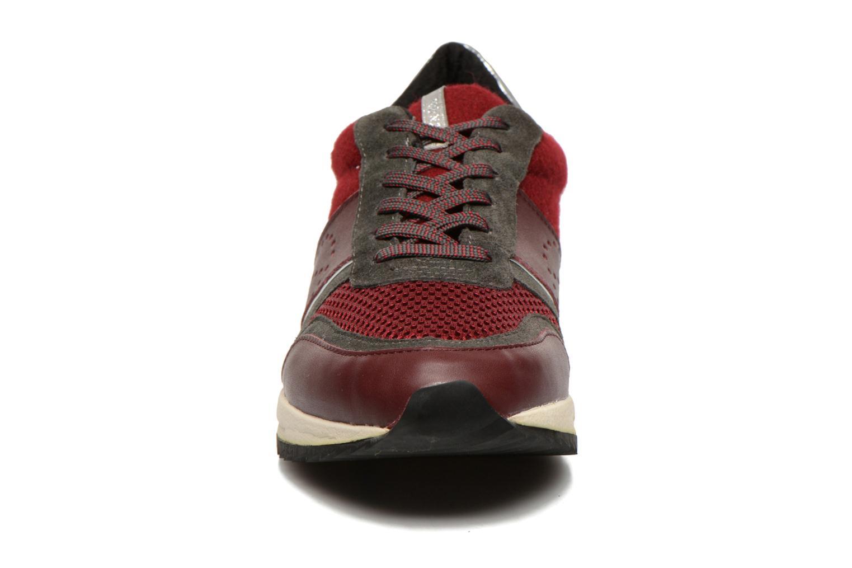 Baskets No Name Cosmo Jogger Bordeaux vue portées chaussures