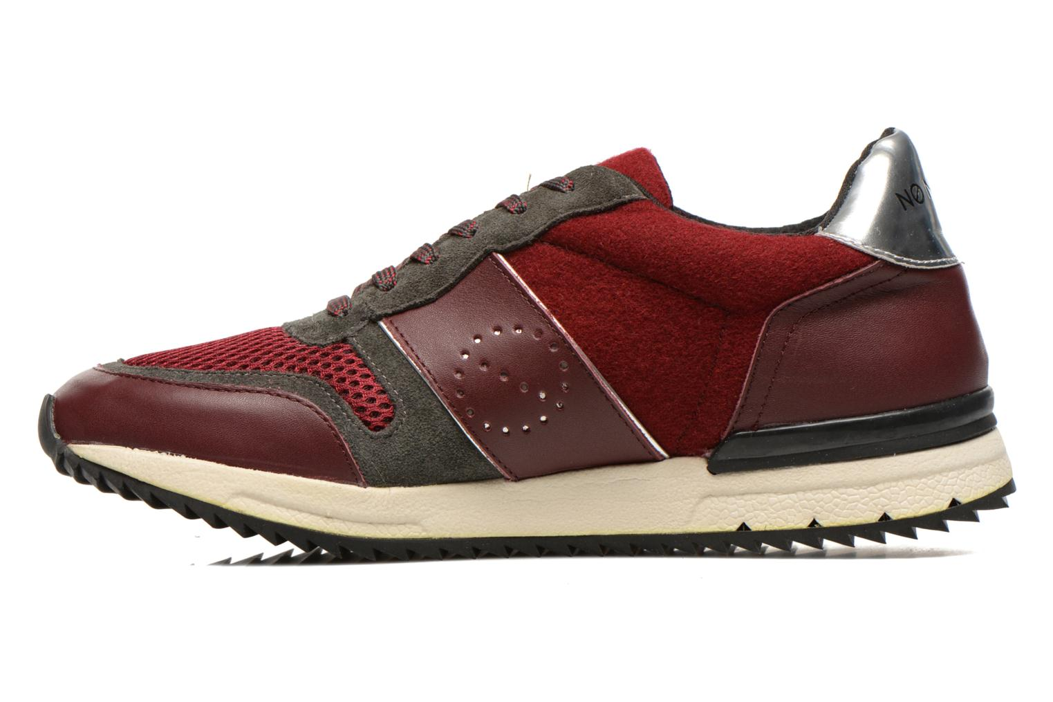 Sneakers No Name Cosmo Jogger Bordò immagine frontale