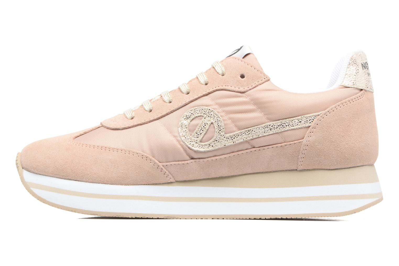 Sneakers No Name Eden Jogger Rosa immagine frontale