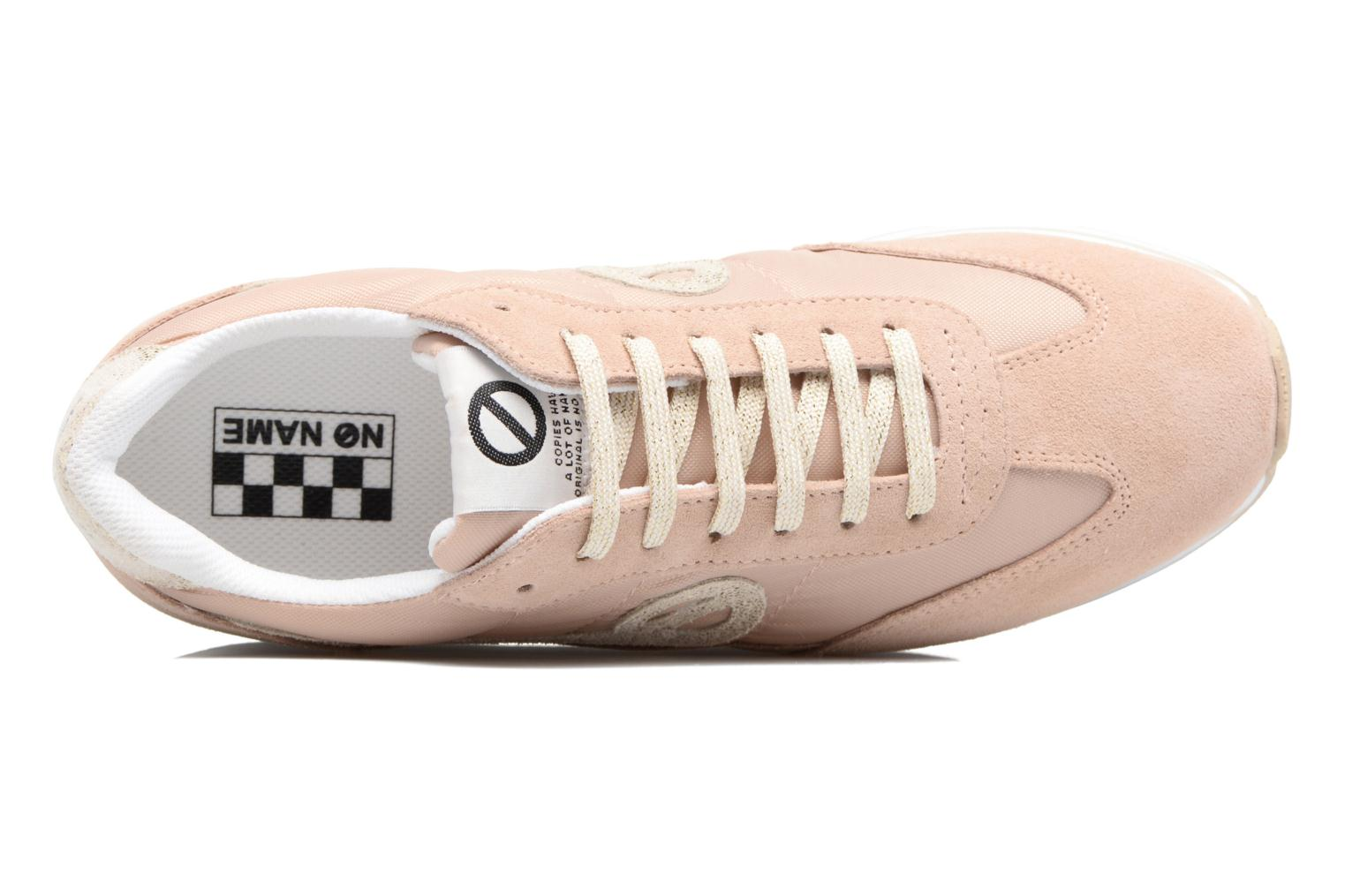 Sneakers No Name Eden Jogger Rosa immagine sinistra