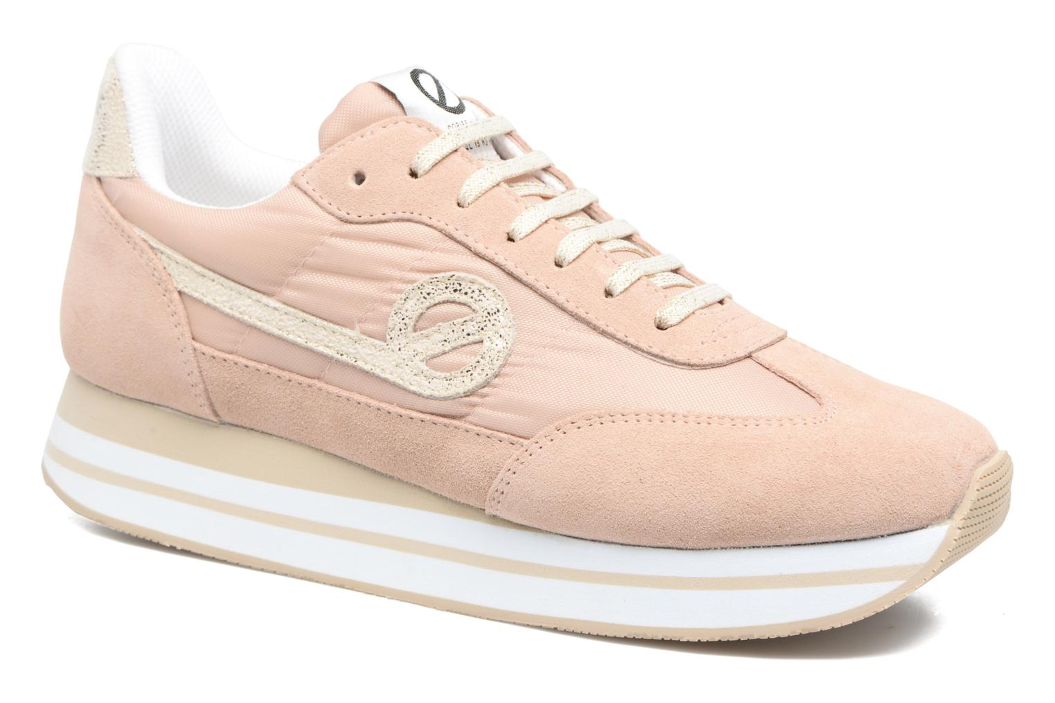 Sneakers No Name Eden Jogger Roze detail