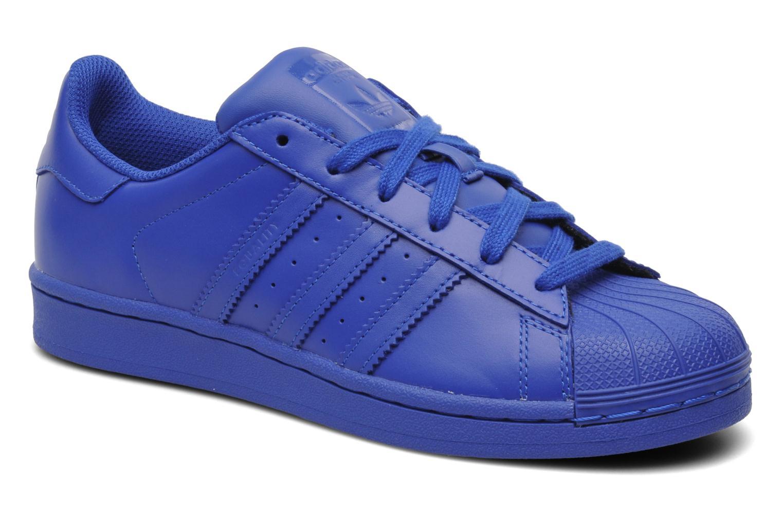 adidas chaussure superstar bleu
