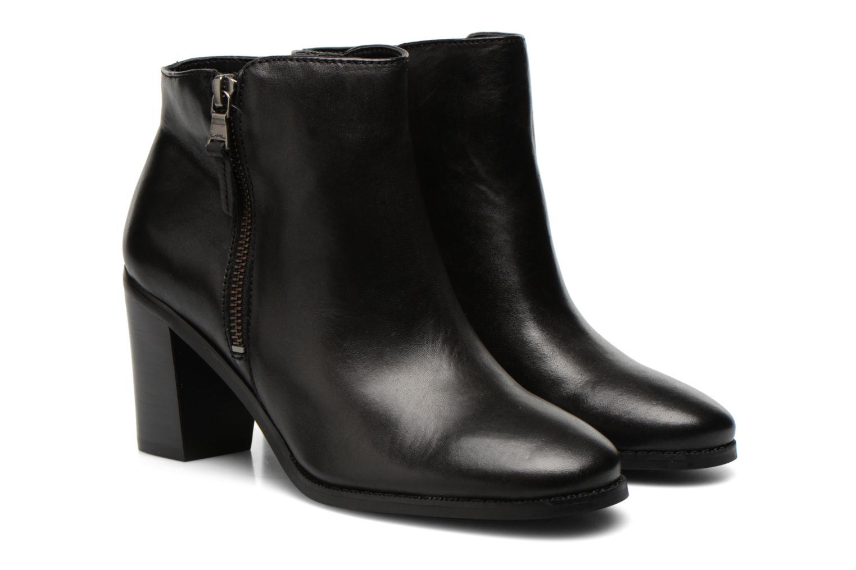 Bottines et boots Lauren by Ralph Lauren Carlene Noir vue 3/4