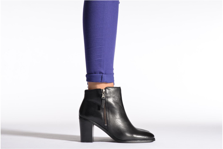 Bottines et boots Lauren by Ralph Lauren Carlene Noir vue bas / vue portée sac