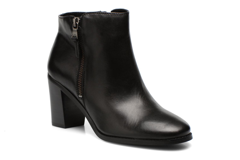 Bottines et boots Lauren by Ralph Lauren Carlene Noir vue détail/paire