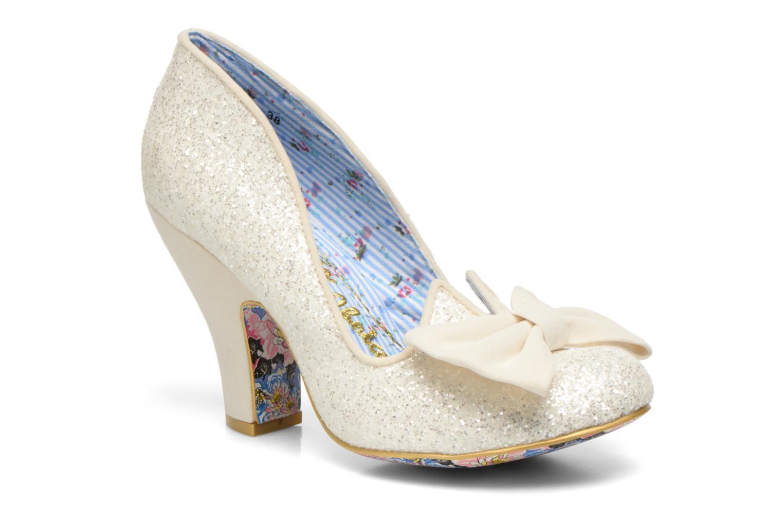Marques Chaussure femme Irregular Choice femme Nick of Time Cream Glitter F