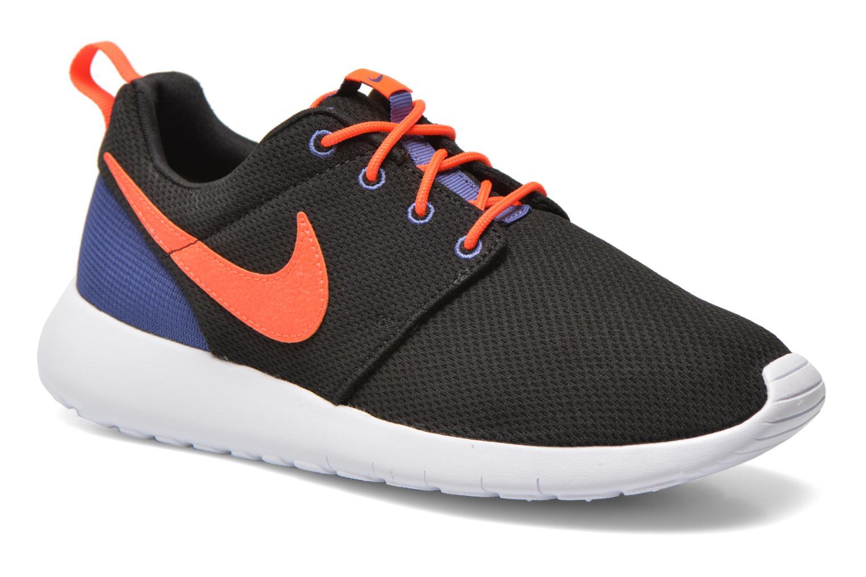 Baskets Nike NIKE ROSHE ONE (GS) Noir vue détail/paire