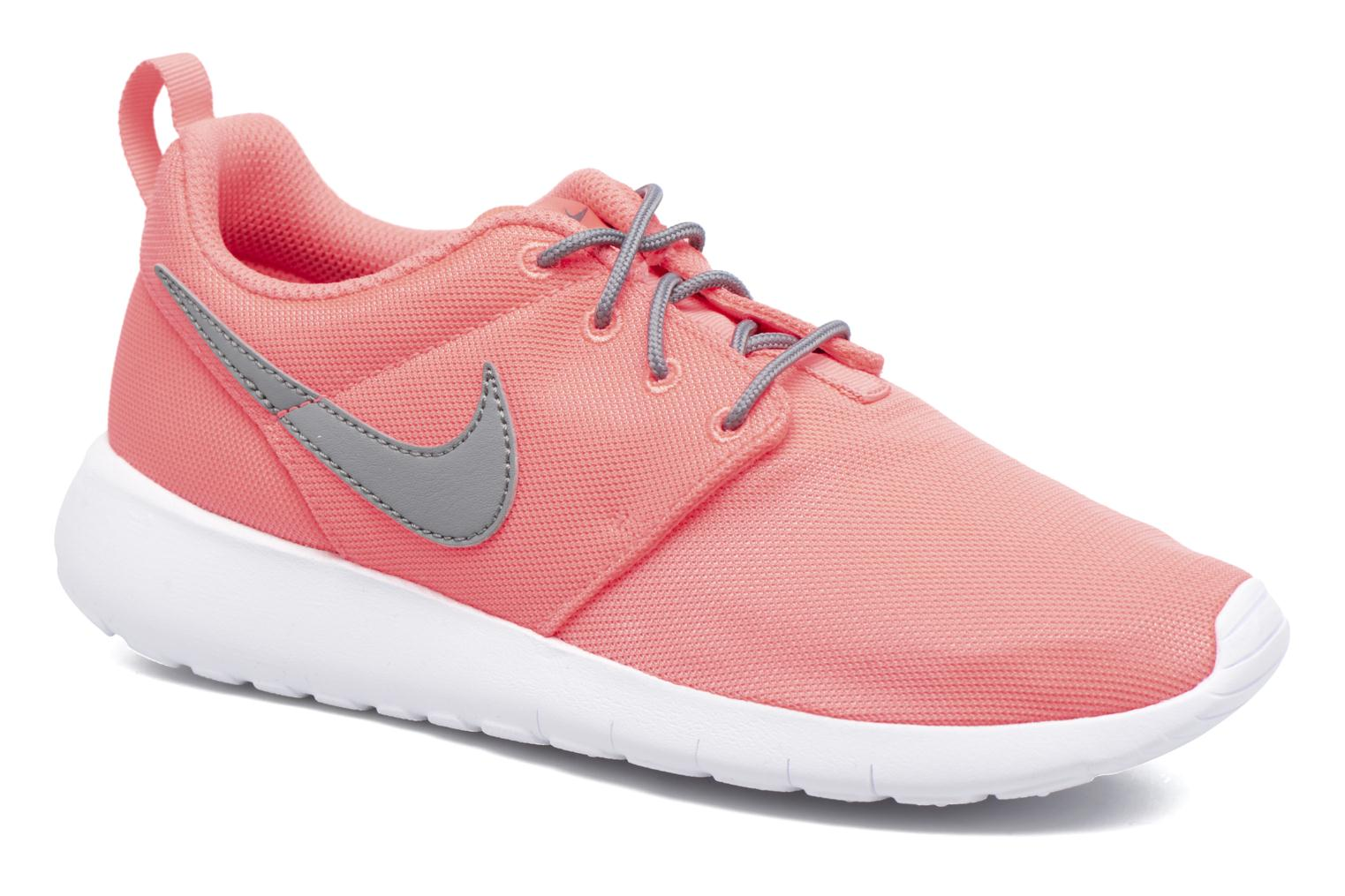 Baskets Nike NIKE ROSHE ONE (GS) Orange vue détail/paire