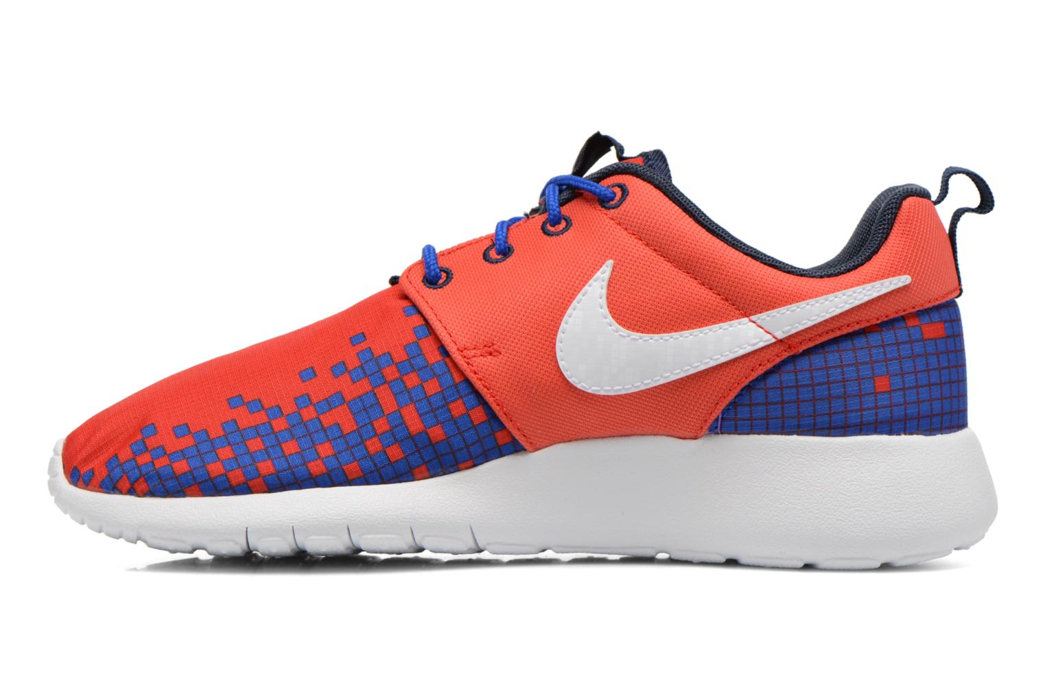 Baskets Nike NIKE ROSHE ONE PRINT (GS) Rouge vue face
