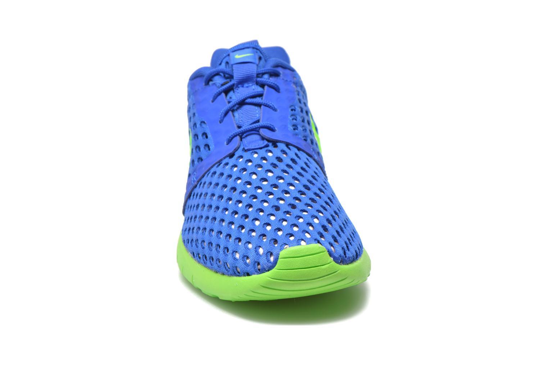 Sneaker Nike ROSHE ONE FLIGHT WEIGHT (GS) blau schuhe getragen