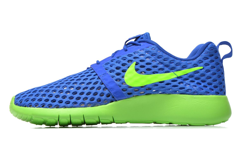 Sneaker Nike ROSHE ONE FLIGHT WEIGHT (GS) blau ansicht von vorne