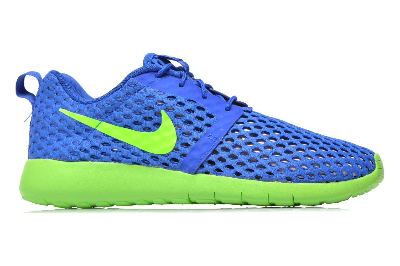 Sneaker Nike ROSHE ONE FLIGHT WEIGHT (GS) blau ansicht von hinten