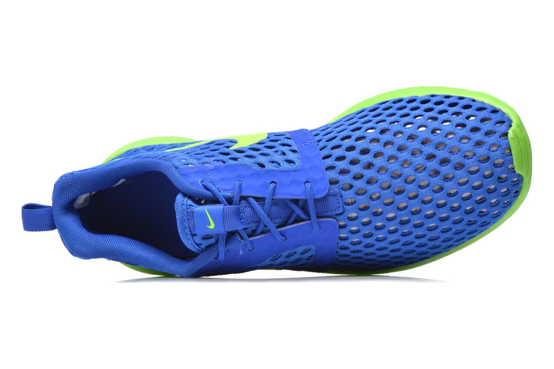 Sneaker Nike ROSHE ONE FLIGHT WEIGHT (GS) blau ansicht von links