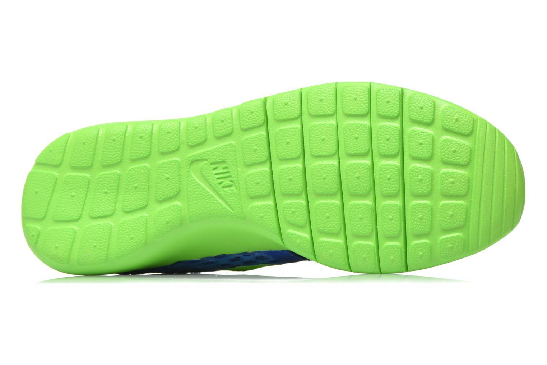 Sneaker Nike ROSHE ONE FLIGHT WEIGHT (GS) blau ansicht von oben