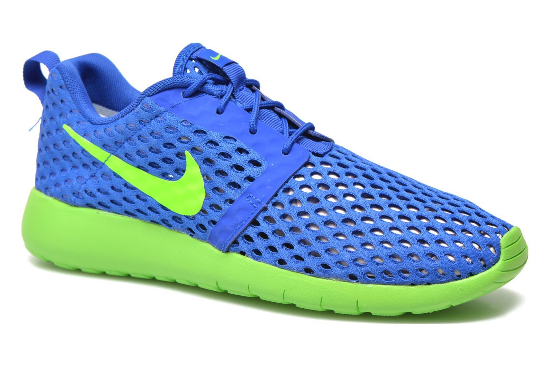 Sneaker Nike ROSHE ONE FLIGHT WEIGHT (GS) blau detaillierte ansicht/modell