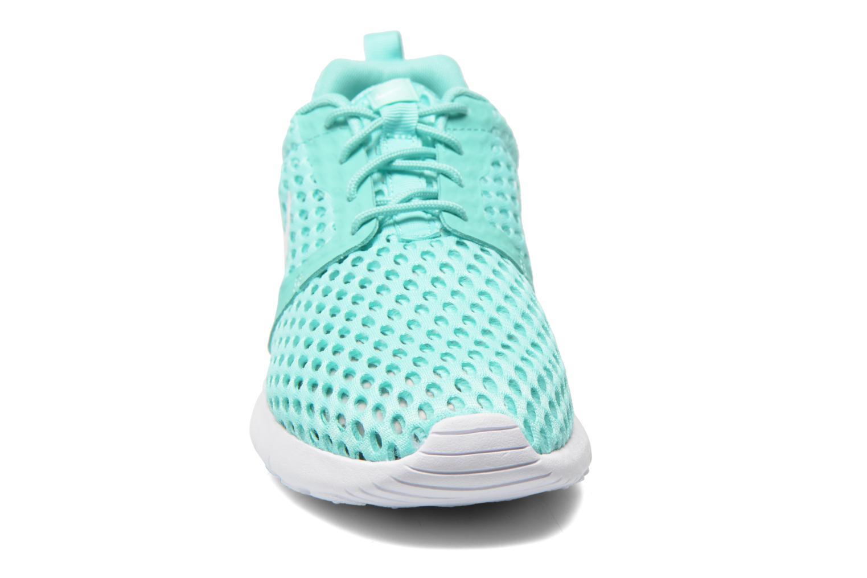 Sneaker Nike ROSHE ONE FLIGHT WEIGHT (GS) grün schuhe getragen