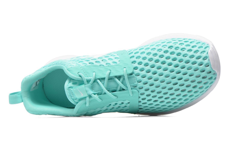 Sneaker Nike ROSHE ONE FLIGHT WEIGHT (GS) grün ansicht von links